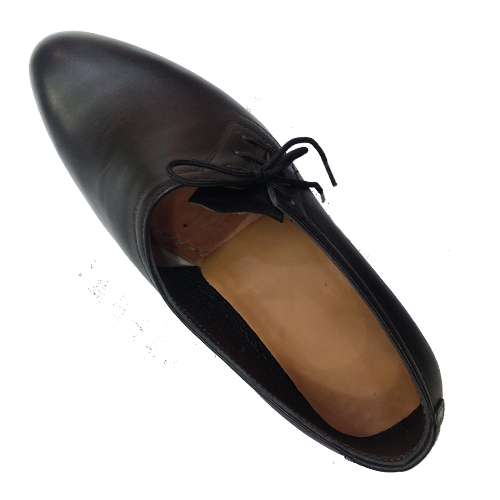 کفش مردانه تمام چرم دست دوز تخم مرغی بغل بندی2