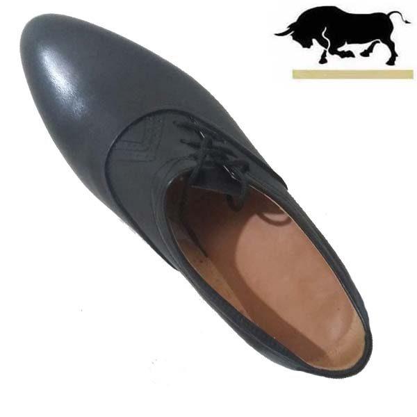 کفش مردانه تمام چرم دست دوز تخم مرغی بغل بندی