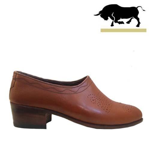 کفش مردانه تمام چرم دست دوز تخم مرغی