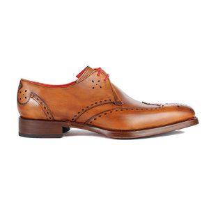 کفش مردانه چرم دست دوز دوینا دو بند