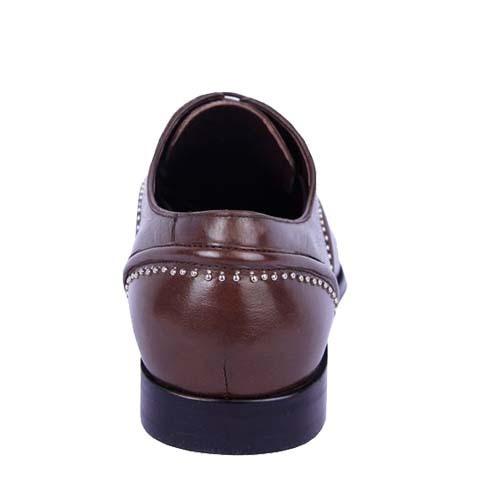 کفش مردانه چرم بزرگ پا مدل الکس