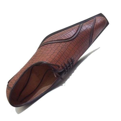 کفش مردانه چرم دست دوز دلفینی
