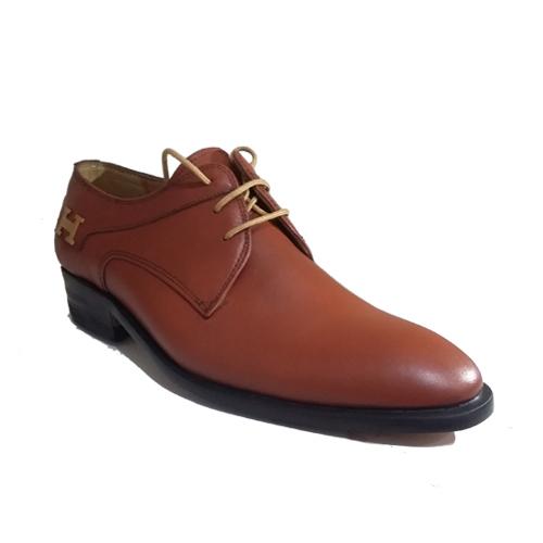 کفش مردانه چرم دست دوز مدل H