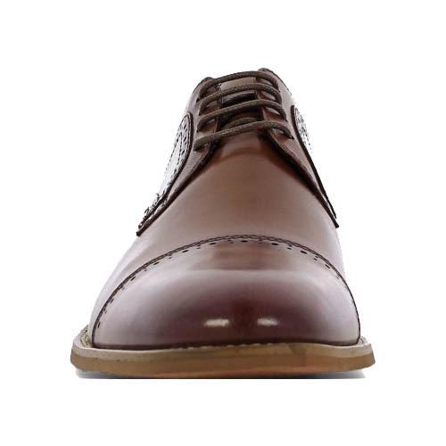 کفش مردانه چرم دست دوز سرپنجه دوینا بندی