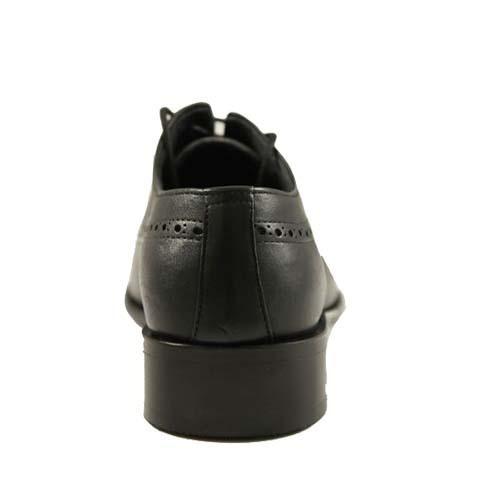 کفش مردانه چرم بزرگ پا زیرسوار بندی