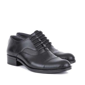 کفش مردانه چرم بزرگ پا زیر سوار سرپنجه دار