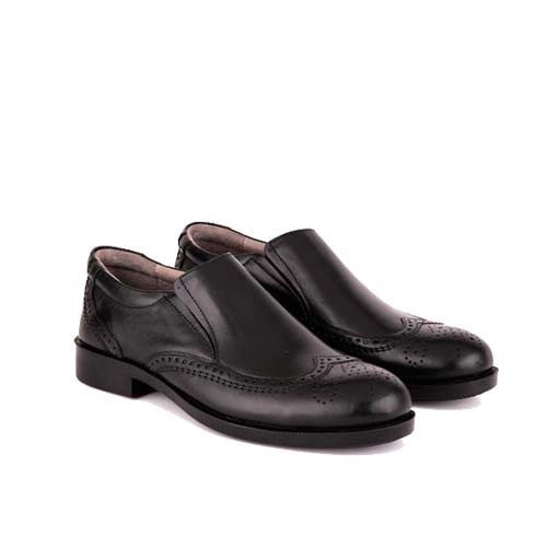 کفش مردانه چرم بزرگ پا بی بند دوینا