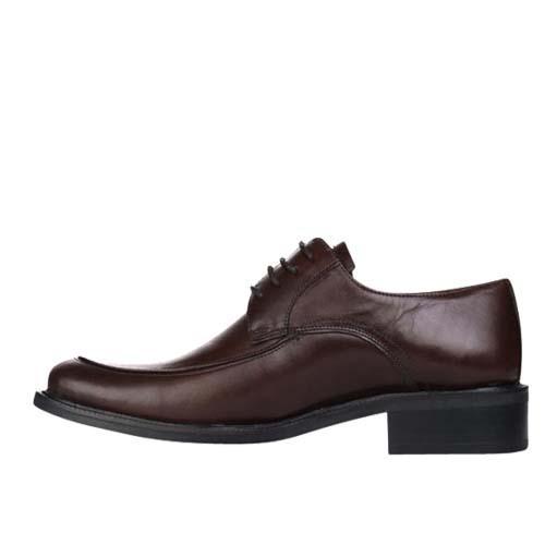 کفش مردانه چرم بزرگ پا بنددار ساعتی
