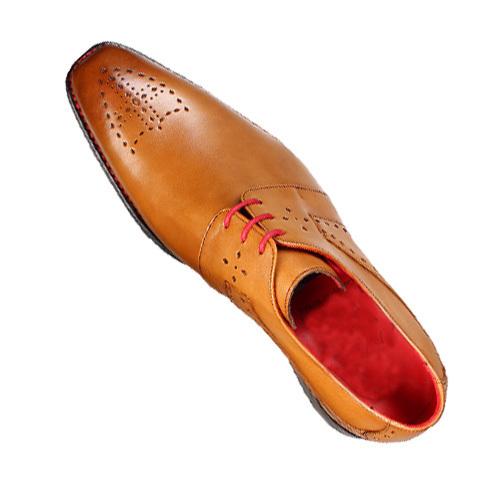 کفش مردانه چرم دست دوز جانسون