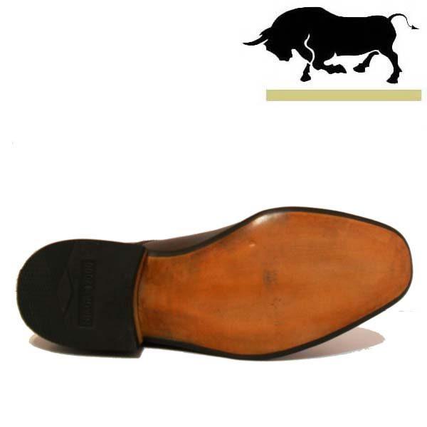 کفش مردانه چرم دست دوز بندار زیر سوار