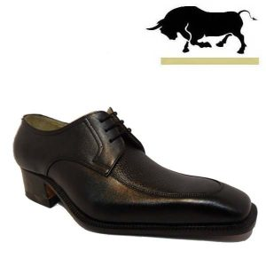 کفش مردانه چرم دست دوز شاخدار قاپاخلی