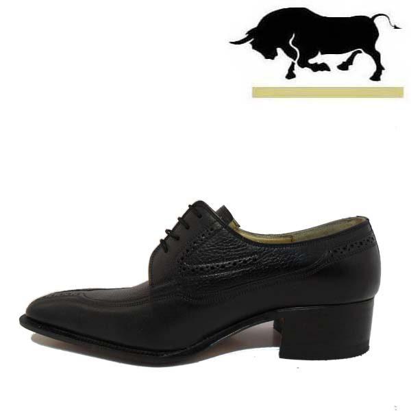 کفش مردانه چرم دست دوز بندی شاخدار اتوبانی 2