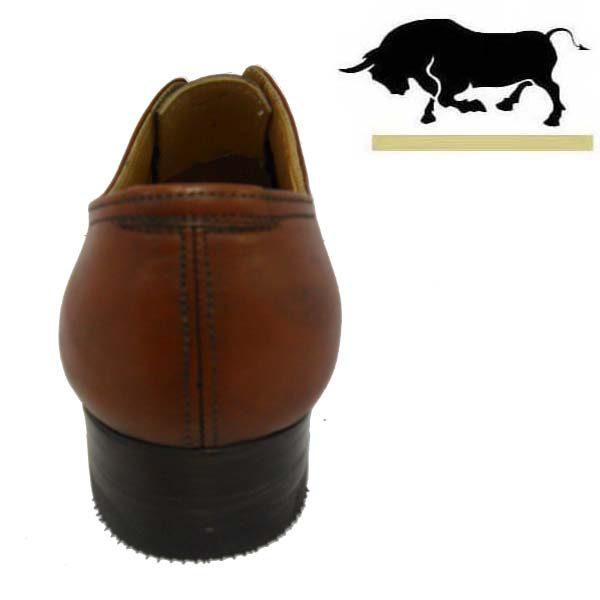 کفش مردانه چرم دست دوز آینالی سه بند