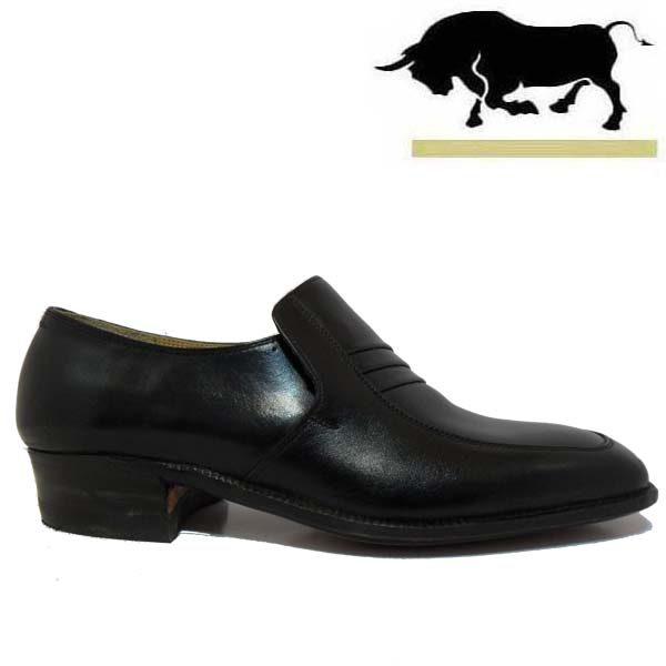 کفش مردانه چرم دست دوز مدل سوئیسی سه تکه