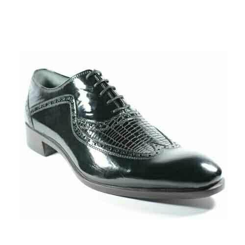 کفش مردانه چرم دست دوز هشترک ورنی زیر سوار