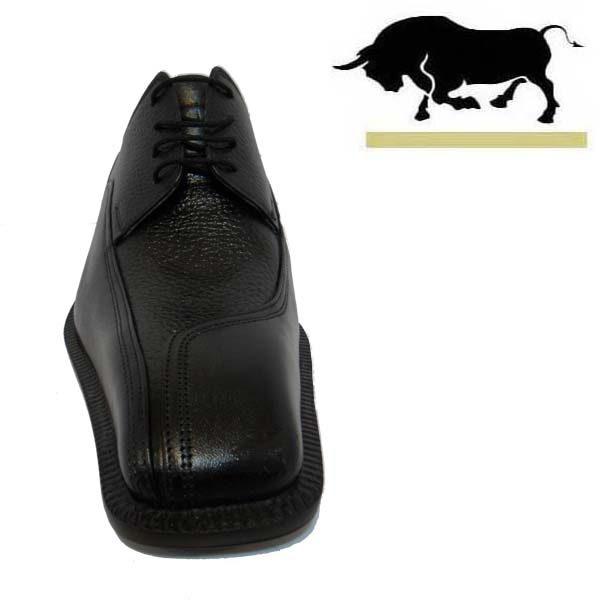 کفش مردانه چرم دست دوز بندی شاخدار اتوبانی