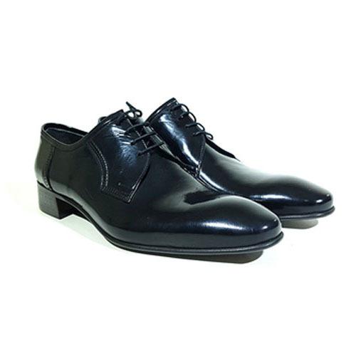 کفش مردانه تمام چرم دست دوز ورنی میشلن