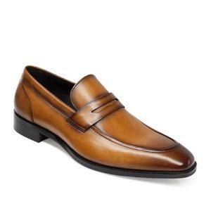کفش مردانه تمام چرم دست دوز سویسی آخوندی