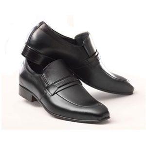 کفش مردانه تمام چرم دست دوز لئونارد