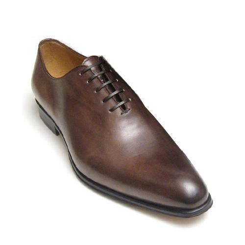 کفش مردانه چرم دست دوز ساده بند چرمی