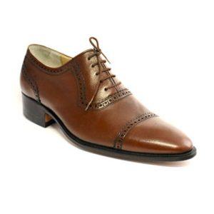 کفش مردانه چرم دست دوز بندار مدل لرد
