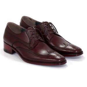 کفش مردانه تمام چرم دست دوز هشترک خطی