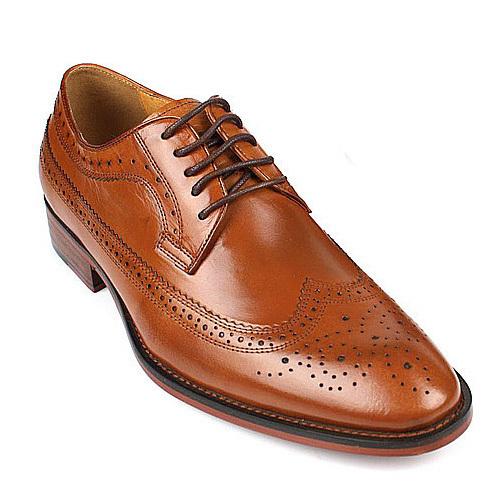 کفش مردانه چرم دست دوز هسترک دالبر بندی