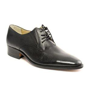 کفش مردانه چرم دست دوز بنددار مدل جورجیا