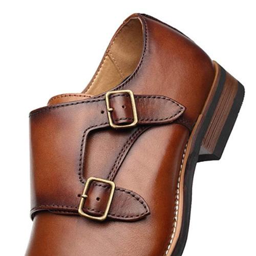 کفش مردانه تمام چرم دست دوز توقادار چارلی