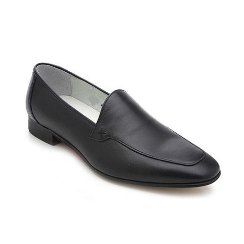 کفش مردانه تمام چرم دست دوز سویسی ساده
