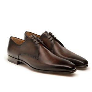 کفش مردانه تمام چرم دست دوز مدل 012028
