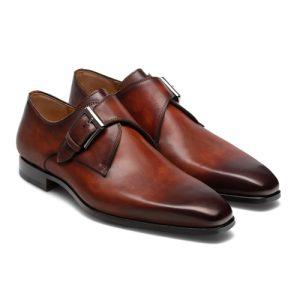 کفش مردانه تمام چرم دست دوز کد 012036