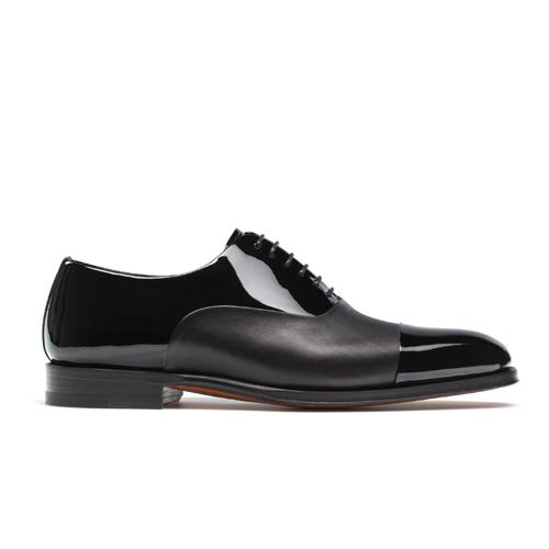 کفش مردانه تمام چرم دست دوز کد 012023